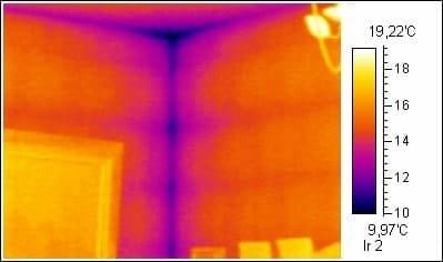 Ecken Thermografie