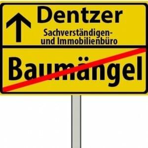 Baumängel-Ortsschild-Dentzer