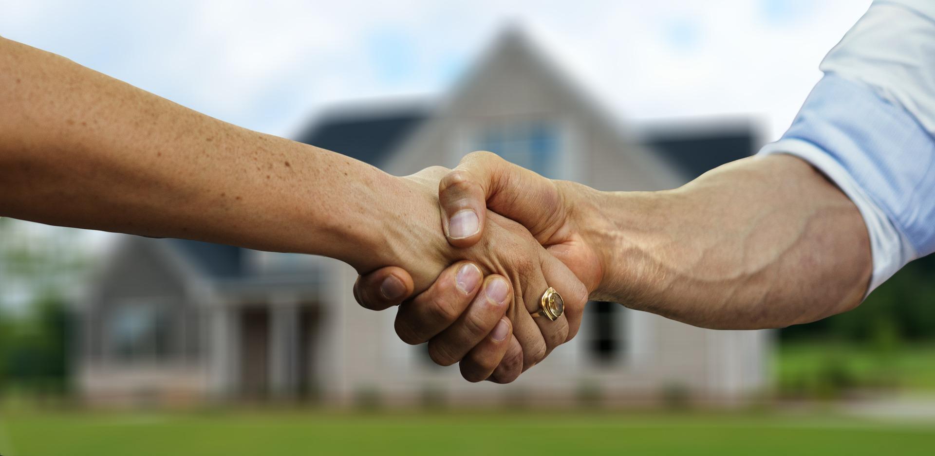 Hände Hausbau Hauskauf